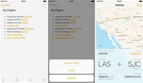 United Airlines Flight Tracker Phone Number How To Preview Flight Information And Track Flights On Iphone And Mac