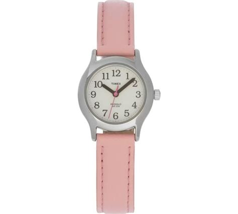 buy timex pink easy reader leather