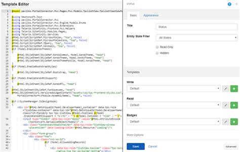 mvc editor templates version 4 3 of the portal connector release notes
