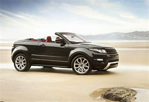 light green range rover range rover evoque convertible given green light report