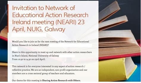 themes in education action research news nui galway