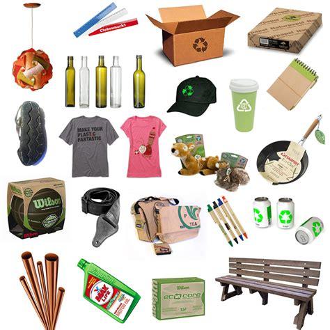 productos elaborados con reciclaje verde zona mitos sobre el reciclaje