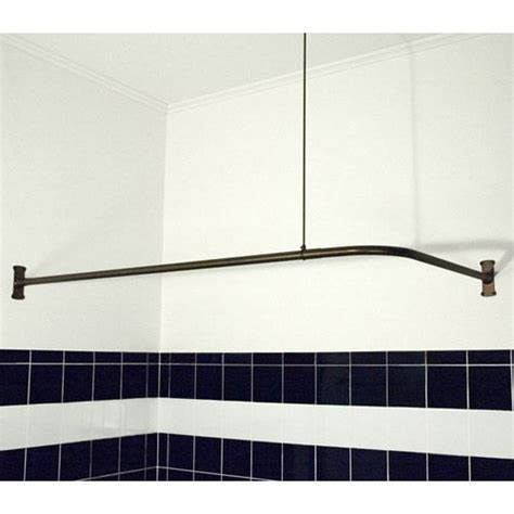 corner bathtub shower curtain rod need this for my corner tub extra heavy whittington