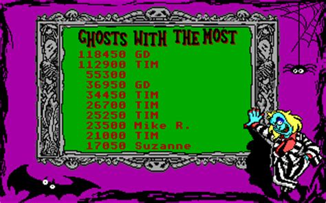 Beetlejuice Skeletons In The Closet by Adventures Of Beetlejuice Skeletons In The