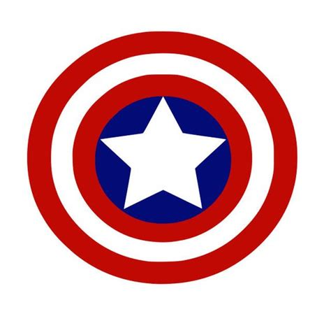 Capt America Logo 1 captain america svg svg sign cricut