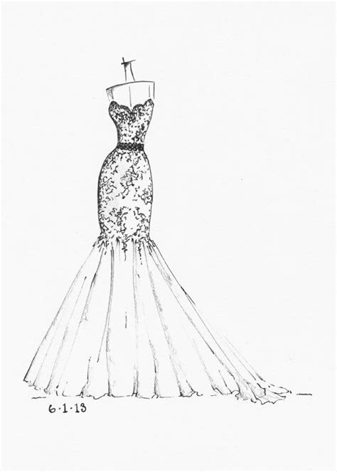 wedding dress sketch wedding dress sketches