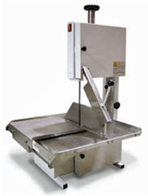 Table Top Band Saw With Sliding Stainless Steel Table