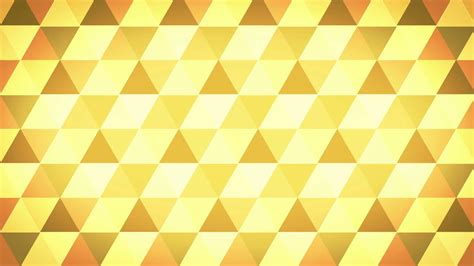 geometric pattern after effects abstract background of golden triangles in a geometric