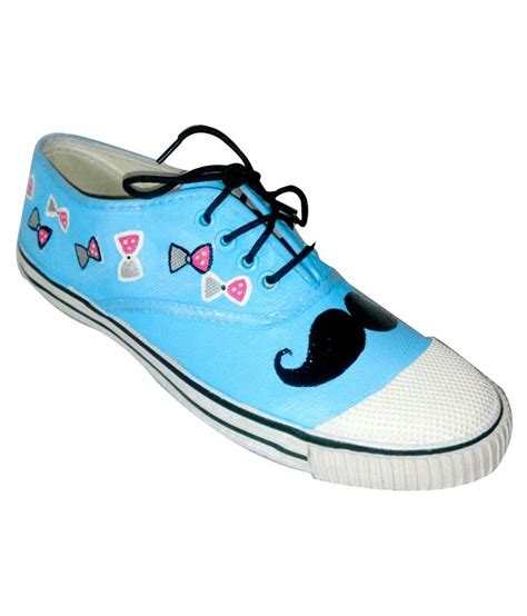 funky n trendy blue white casual shoes price in india