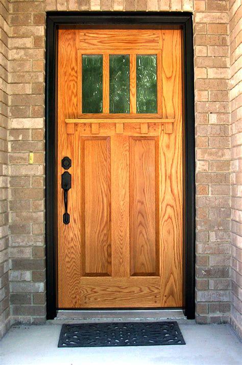 Oak Doors Solid Oak Entry Door Solid Oak Doors Exterior
