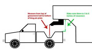 Make Bed Higher Determining Needed Fifth Wheel To Gooseneck Adapter Height