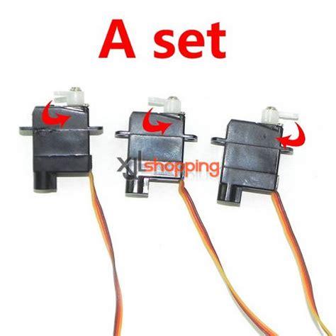 Wl V913 Parts Servo Set Spare Part 3 pcs a set v977 servo set wl wltoys v977 helicopter spare parts wl v977 37 22 99