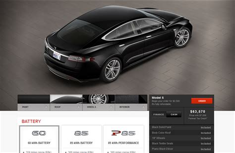 Tesla Model S Pricing And Options Tesla Ups Prices On Some 2013 Model S Options