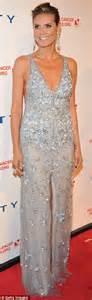 Diamond Chandelier Heidi Klum Is Stunning As She Slips Her Sensational Figure