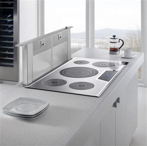 stove with built in exhaust fan 14 best images about induction cooktops on