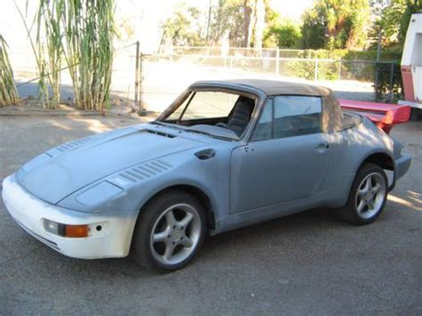 porsche 911 convertible 1980 purchase used 1980 porsche 911 911t project targa