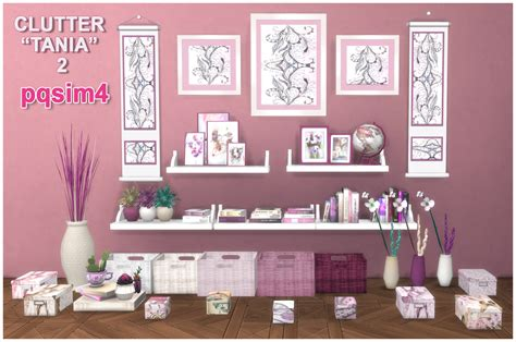 sims 4 cc clutter clutter tania 2 sims 4 custom content