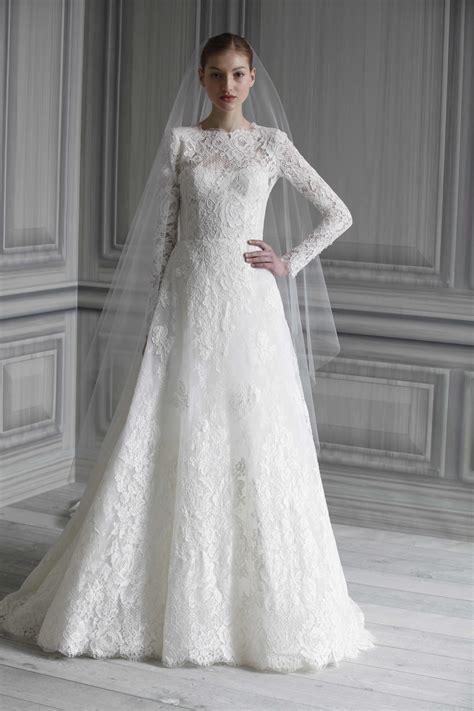 stunning long sleeve wedding dresses chic