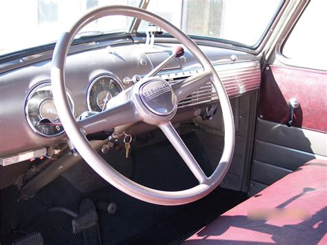 1949 Chevy Interior by 1949 Chevrolet 3100 79250