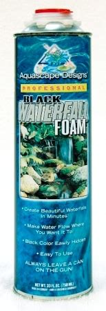 aquascape waterfall foam water garden pond products installation tools