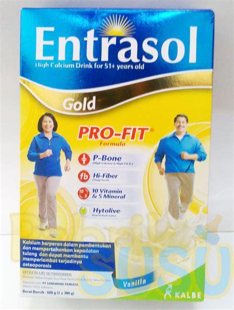 Entrasol Gold entrasol gold vanila 600g pabrik detil toko