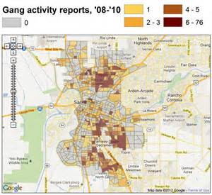 gangs in california map sactown gangs sactown blues obsidian portal