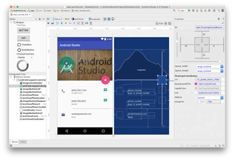 android studio layout shadow android studio 2 2 232 ufficiale android blog italia