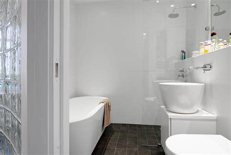 bathroom glass bricks q urban apartment with terrrace monochrome bathroom with