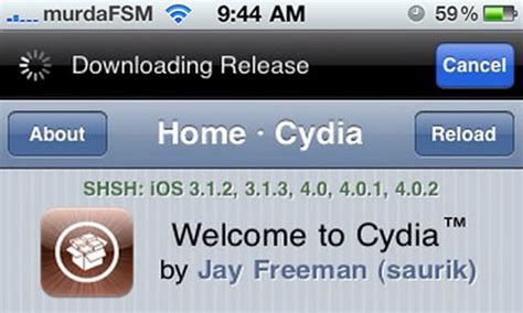 The To My By T Cyia by Why Isn T Cydia Displaying Your Saved Shsh Blobs Anymore