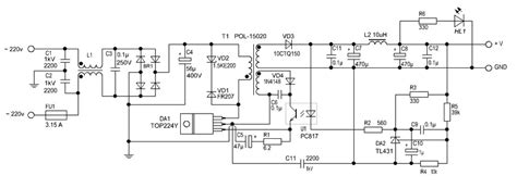 Power Supply Smps 12 Volt Untuk Arduino 12v regulated power supply circuit diagram circuitstune