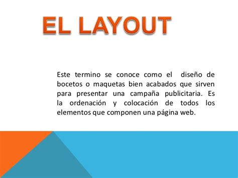 que es un layout en marketing layout