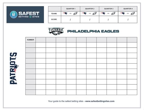 free printable football squares template bowl 2018 betting football squares printable