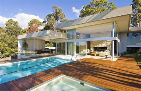 pretty house nsw 30 spectacular modern glass facades presented on freshome