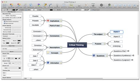 best mind mapping for mac mind mapping software mac mindnode mind map software for
