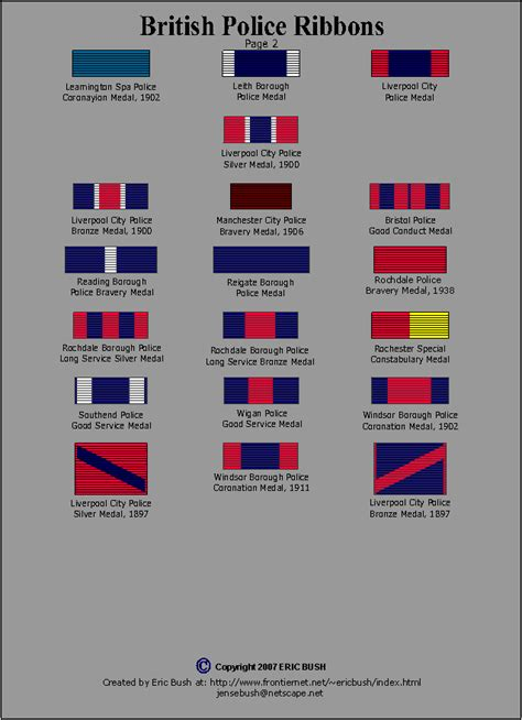 police ribbons and awards images