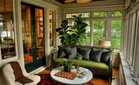 3 Season Room Decorating Ideas by 3 Season Porch With Roll Out Windows House Screen Porch
