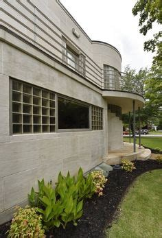 historical architectural style the art deco waterfall image detail for vintage art deco house home plans book