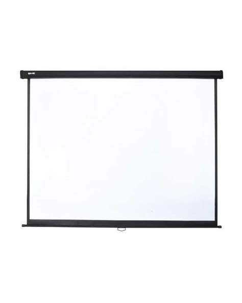 Screen Projector 120 Wall visualapex manual pull wall mounted projector screen 120 16 9 white buy