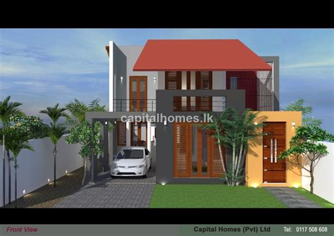 two story small house plans sri lanka