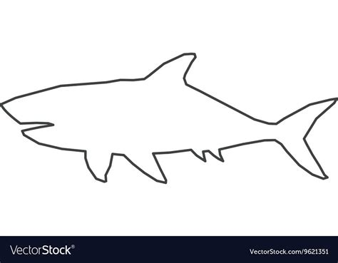 shark outline tattoo shark fin drawing at getdrawings free for personal