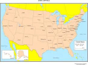 united states map names united states colored map