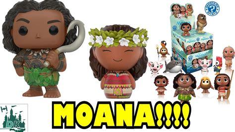 Funko Moana Voyager Moana Dorbz 11766 moana funko pop vinyls dorbz mystery minis coming soon