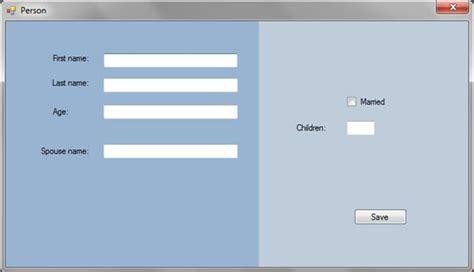 design windows form mvp design pattern for windows forms