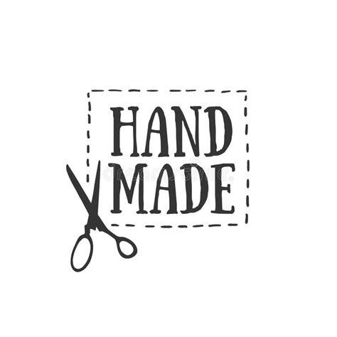 Handmade Logo - handmade badges labels and logo elements retro symbols