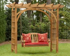 garden arbor swing home and gardening tips for utilizing trellises and