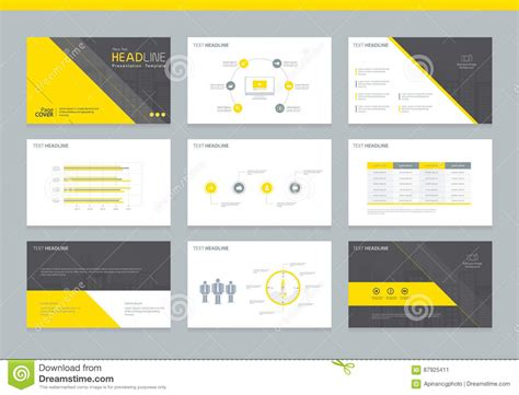 element layout template is not supported business presentation design template background stock