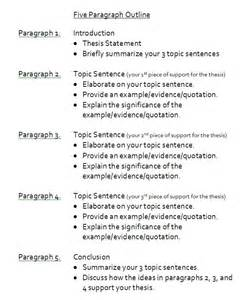 How To Do An Outline For An Essay by Sle 5 Paragraph Essay Outline Paragraph School And