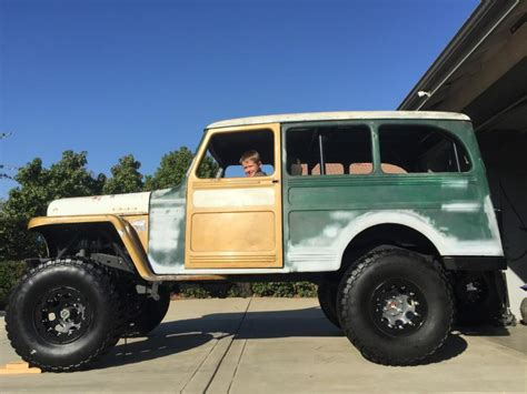 Jeep 55 S 55 willys wagon build pirate4x4 4x4 and road forum