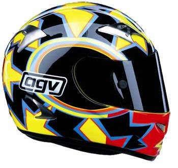 Kemeja Vr46 Agv Helmet 02 2003 valentino helmets model 5th world