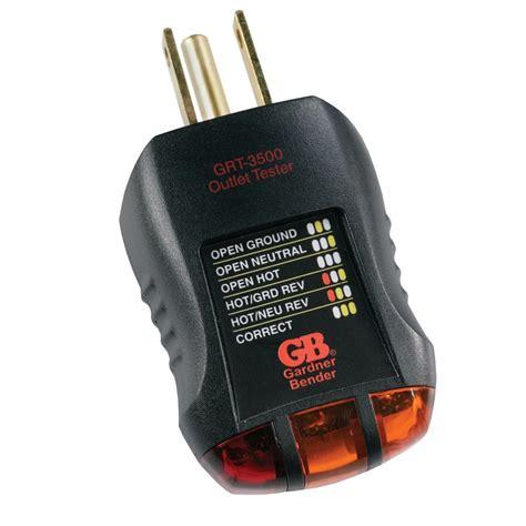 gardner bender d c aaa aa 9 volt battery tester gbt